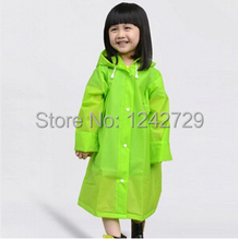 Fashion Raincoat for Children kids child  schoolbag Rain Cape Poncho Cloth Gear Rain coat