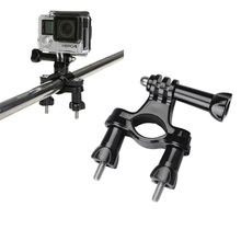 Buy Gopros Bicycle Mount Bike Handlebar Seatpost Tripod Holder Gopro Hero 5 3 4 Session SJCAM SJ4000 Xiaomi Yi 4K h9 Camera for $2.31 in AliExpress store