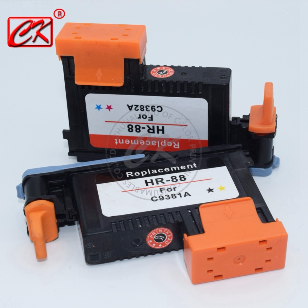 1set for HP88 C9381A C9382A Printhead for HP printer K550 K8600 L7480 L7550 L7555 L7580 L7590 L7681 L7780<br><br>Aliexpress