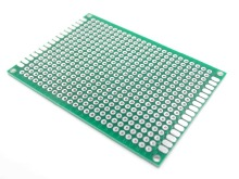 5x7 cm PROTOTYPE PCB double 5*7 CM Universal Board Sided PCB 2.54MM board