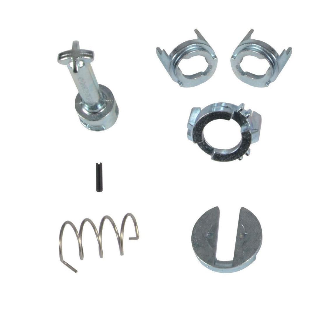 Front Left Right Door Lock Cylinder Repair Kit Replacement Parts Fit for E46 3 Series 1998-2005 Door Lock Key Kit Door Lock Durable Replacements