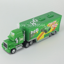 Pixar Cars chick hicks No.86 Mack Racer's Truck Diecast Toy Car For Children Gift 1:55 Loose Brand New In Stock
