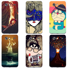 Case For Samsung Galaxy S Advance i9070 GT-I9070 Cover Fashion HD UV Printing Cartoon Back Shell Hard Plastic Skin Phone Coque
