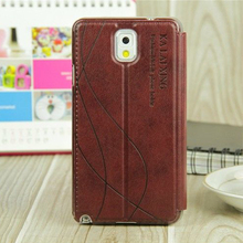 original leather case For samsung galaxy note 3 / note3 neo case flip luxury cover For galaxy Samsun note3 Mobile Phone Cases(China)
