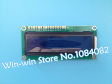 Free shipping 10pcs/lot New 1602 16x2 Character LCD Display Module HD44780 Controller blue blacklight IN STOCK