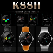 Original K88H Bluetooth Smart Watches Wristwatch MTK2502 Heart Rate Monitor Wearable Health Whatch Clock For Android Phone ios