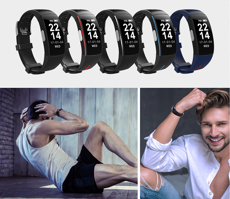 Activity Tracker with Blood Pressure Watch 17