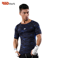 Men Sports Compression Athletic Apparel Sport T-Shirt Quick Dry Fitness Running Gym Training Short Sleeve power Muscle Tops Tees