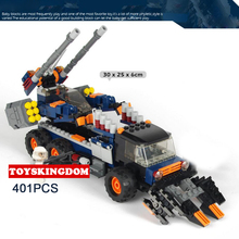 Hot future military all terrain Assault Armored car robot building block army figures truck bricks toys for children gifts(China)