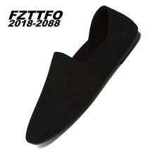 Size 38-44 Men's Genuine Suede Leather Driving Shoes,FZTTFO 2018-2088 Brand Casual Shoes,Brand Design Loafers For Men K481