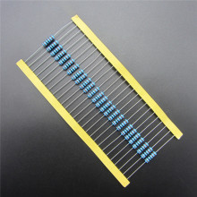 50pcs 1W Metal Film Resistor 220 ohm 220R +/- 1% RoHS Lead Free In Stock DIY KIT PARTS resistor pack resistance