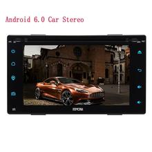 2din Electronics Android 6.0 Car Stereo Wifi full Touch Panel Car DVD PC Tablet in Dash GPS Navigation Head Unit Screen Mirror(China)