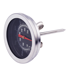 New Stainless Steel Oven Cooking Thermometer BBQ Milk Meat Food temperature Gauge meter tester with Celsius Fahrenheit