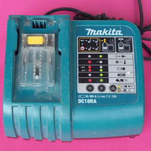 Used Original Makita DC18RA Rapid Battery Charger for Li-Ion or Ni-MH 7.2V-18V Batteries(China)