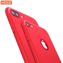 HCCZ latest style for iPhone 5 5s SE 6 6s 7 8 Plus X High quality Elegance TPU soft silicone case Frosted dustproof Phone case