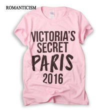 Romanticism Fashion Summer pink Lovely T shirt Women Cool Short Sleeve T-shirts for girls Cute Tops Tees