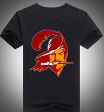 Summer New Fashion Tampa Bay T-shirts100% Cotton Short Sleeve Tees Buccaneers Old Tshirts Hot Sale(China)