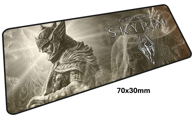 skyrim mouse pad gamer 700x300mm notbook mouse mat large gaming mousepad large Birthday present pad mouse PC desk padmouse 10