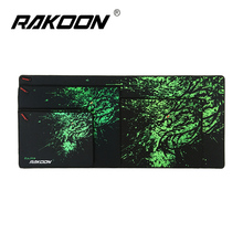 Rakoon Brontosaur Large Gaming Mouse Pad Locking Edge Mouse Mat Control/Speed Version Mousepad For CS GO Dota 2 League of Legend(China)