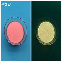 100g red Glitter Phosphor Coating Chrome Nail Art Photoluminescent Dust Glow in Dark Luminous Fluorescent Powder Pigment