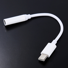 1 pcs USB 3.1 Type C Adapter to 3.5mm Earphone Headset Speaker Cable Audio Adapter Converter Cable For Letv LeEco Le2 Le 2 Max2