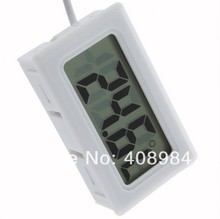 200pcs/ lot free by dhl/tnt/fedex/ups Mini Digital LCD Thermometer Temperature Sensor Fridge Freezer Thermometer