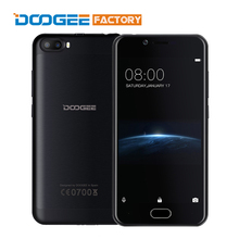 Original Doogee Shoot 2 MT6580A Quad Core Android 7.0 1GB RAM 8GB ROM Mobile Phone 5.0 inch 1280x720 3360mAh Unlock Smartphone