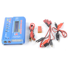 Li-ion,Lipo Battery 80W Imax B6 Intelligent Digital Rapid Balance Charger for RC Drone Quadcopter Car Aircraft(China)