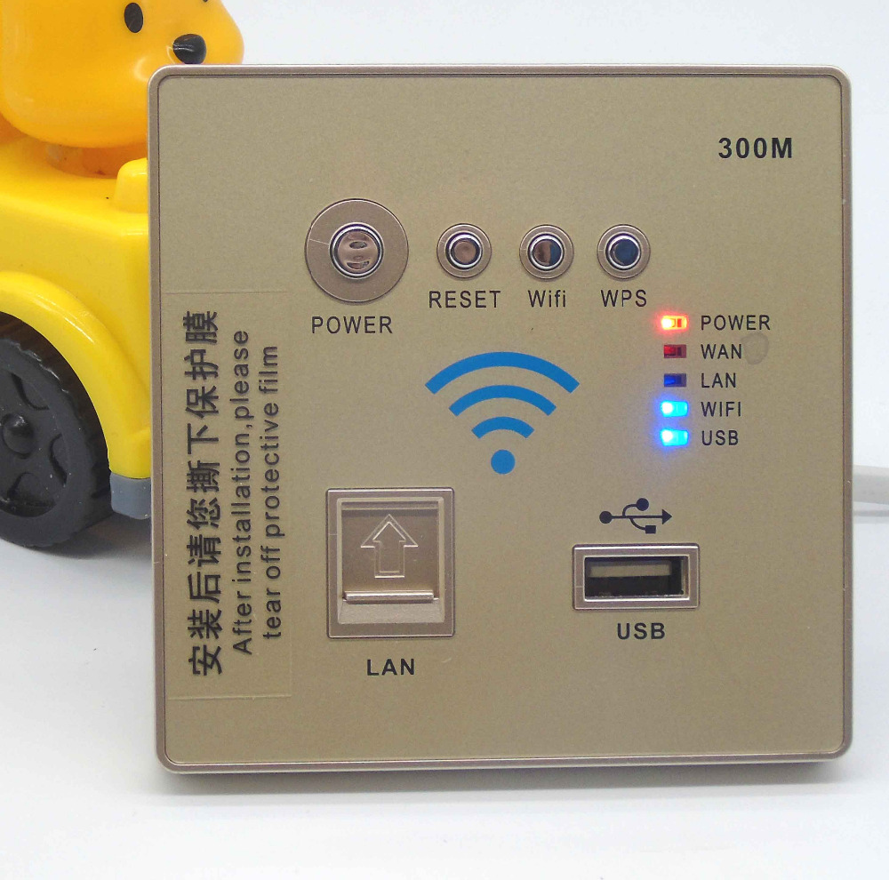 300 MBPS In Wall Wireless Router for Hotel Rooms<br><br>Aliexpress