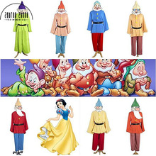 Movie anime Snow White and Seven Dwarfs Costume Cosplay Custom made Carnival Halloween Party cosplay costume(China)