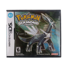 Nintendo NDS Video Game Cartridge Console Card Pokemon Series Diamond USA English Language Version(China)