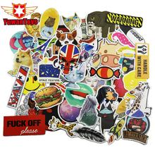 Buy Hot 50Pcs Stickers Fun Jdm Home Motorcycle Bicycle Laptop Phone Cartoon DIY Toy Number Skateboard Luggage Stickers Kid's Toys for $2.23 in AliExpress store