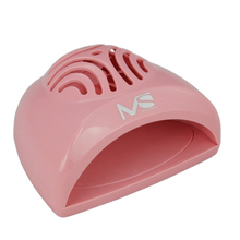 2016 MelodySusie Pink Silver Mini Compact Portable Finger Toe Nail Polish Nail Art Dryer Blower Fan