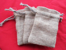"JLB wholesale 5000pcs 10x15cm/3.9""x5.9"" Jute Burlap drawstring Favor Bags for candles handmade soap wedding"