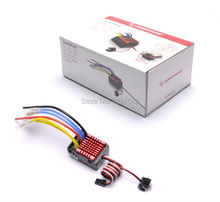 Original Hobbywing QUICRUN Series 860 Waterproof Brushed ESC 60A with 5V/3A Linear Mode BEC for 1/8 RC Car