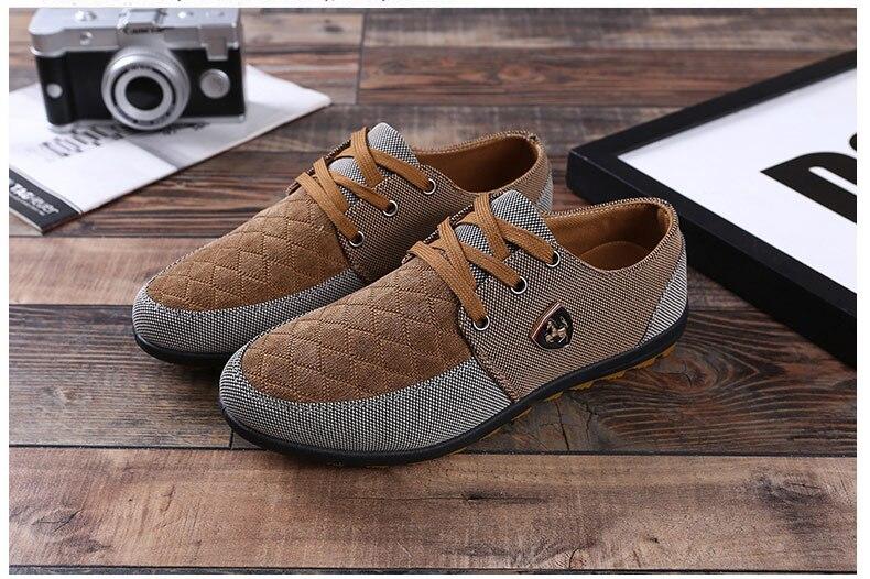 18 Fashion Canvas Shoes Men Casual Shoes Summer Breathable Yellow Comfortbale Espadrilles Sneakers Men Flats Shoes Big Size 8
