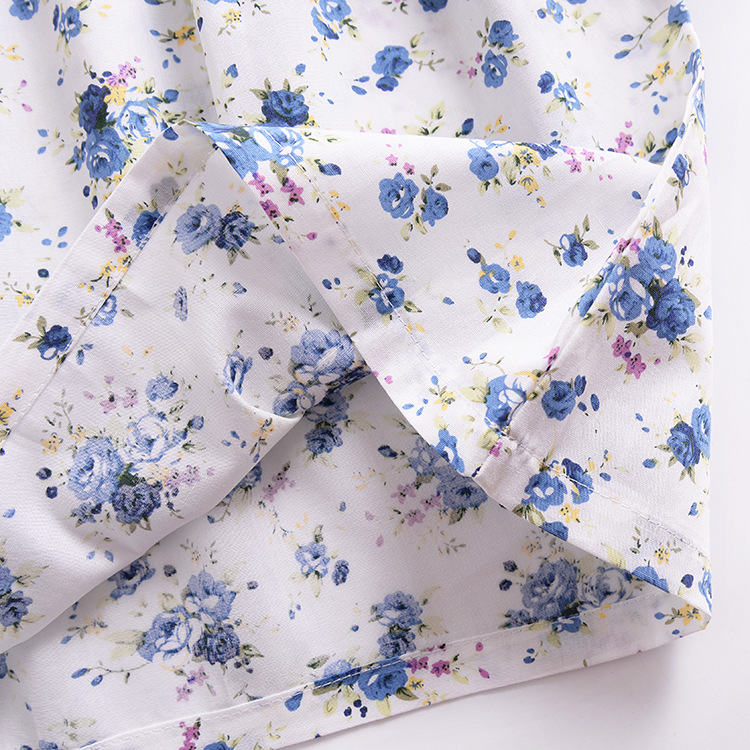 Mother nest 2018 Summer New Girls Flower Puff Sleeves Dress Cotton Children Kids Clothes Toddler Baby Birthday Kids Dresses (12)