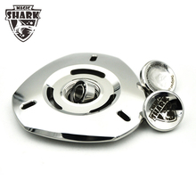 2017 Direct Selling New Magic Shark Fidget Finger Spinner Metal UFO Hand Spinners Stainless Steel Toys