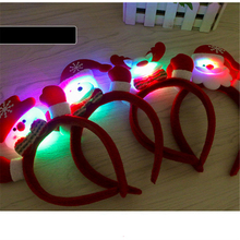 1Pcs 25cm 25g Cloth Cute beautiful hair clips Christmas decorations children small gifts Christmas family party decorations