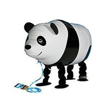 Walking Balloon Panda Pets Balloons Aluminum Foil Balloon Children Toy Birthday Baby Shower Wedding Party Decorations Props