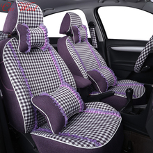 Car wind custom car seat covers for Volvo XC60 S60 Ssangyong Nissan Qashqai MINI 2007~2012 Suzuki SX4 Jimny Golf car accessories(China)