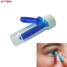 JETTING 1Pc Contact Lens Inserter for Color Colored Halloween Lenses Solid & Hollow Remover For Hard GP Lenses Fashion Stick