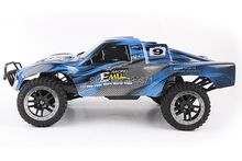 The new remote control car racing off-road four-wheel drive 1:10 2.4G remote control brushless version of the high-speed car