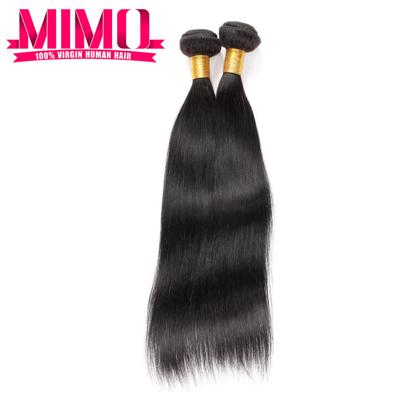Natural Authentic Human Hair Extensions 2 Bundle Deals Malaysian Straight Virgin Hair Last Long Time  beauty hair for sexy lady<br><br>Aliexpress