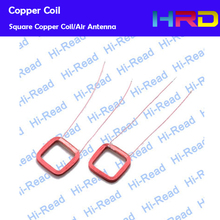 Coil Antenna Air Antenna Copper Coil customized size round rectangle shape producing by your request wire diameter