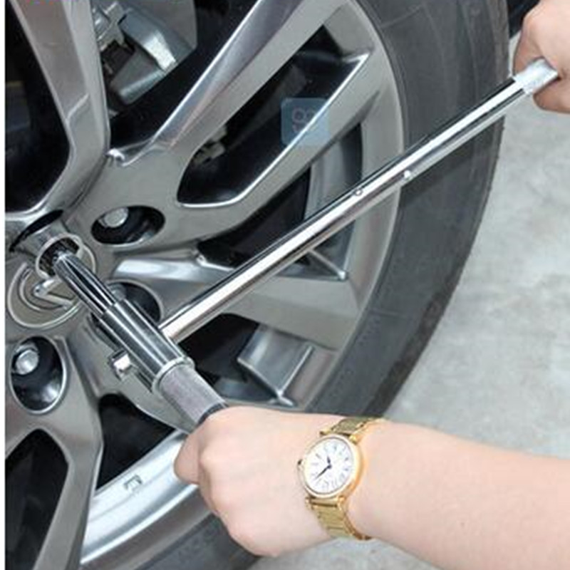 Cross Shaped Socket Wrench Automotive Car Tire Repairing Tool Tire Wrench Spark Plug Sleeve Tool Combination <br>