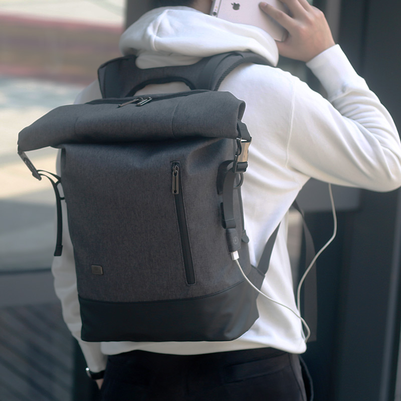 Travel Backpack Aiti Theft Men Travel Bags Laptop Backpack 15.6 Male Waterproof USB Vintage Notebook Schoolbags Teenagers Boys<br>