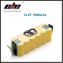Eleoption 3.5Ah Ni-MH 14.4V 3500mAh For iRobot Roomba  Vacuum Cleaner Rechargeable Battery Pack for 500 550 560 780