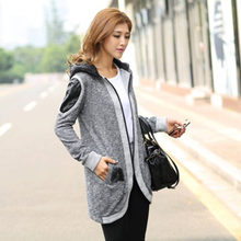 2017 New Fashion Hot Sale Women's spring jacket coat female  autumn outerwear casual middle long Lady Jacket Tops D055