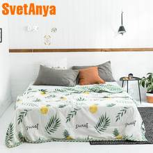 Svetanya Plants thin Quilt bedding Throws Blanket (no Pillowcase)(China)
